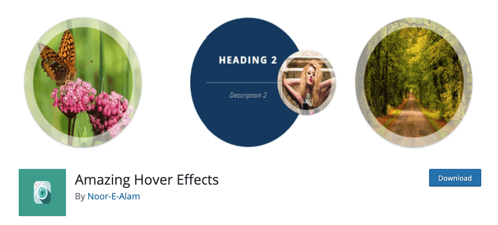 Amazing Hover Effects