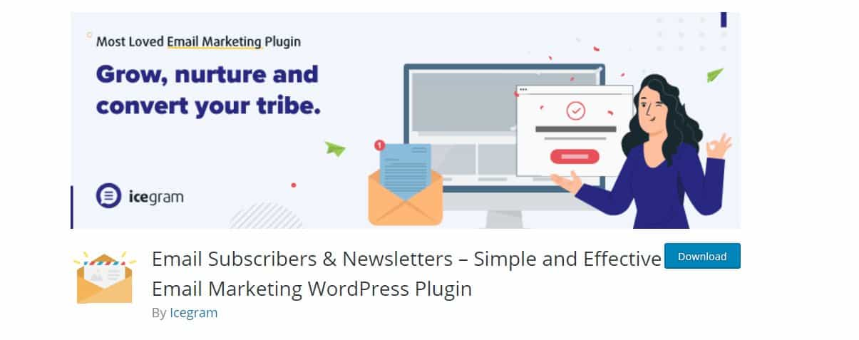 Email Subscribers & Newsletters by Icegram