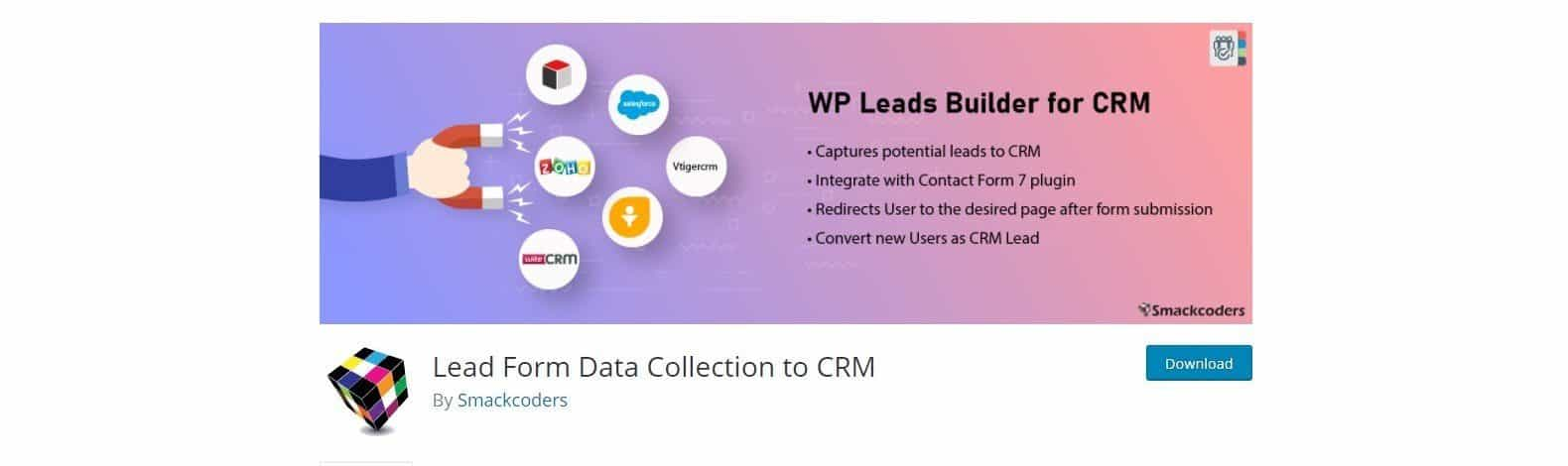 Lead Form Data Collection to CRM