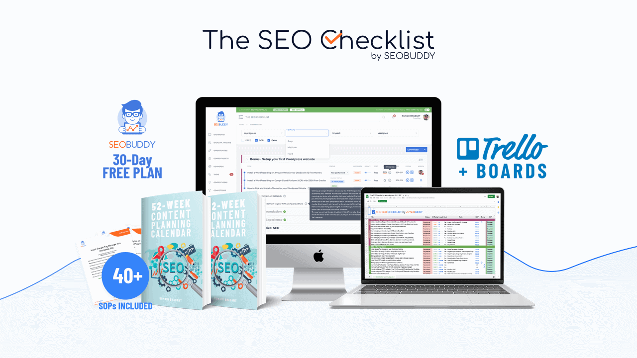 The SEO Checklist
