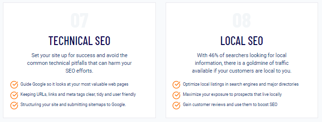 SEO Checklist Technical/Local SEO