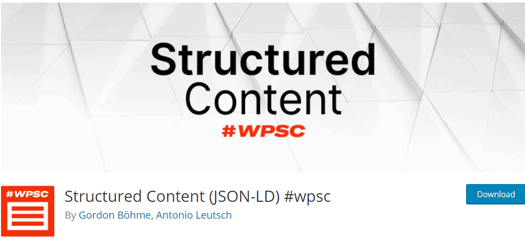 Structured Content