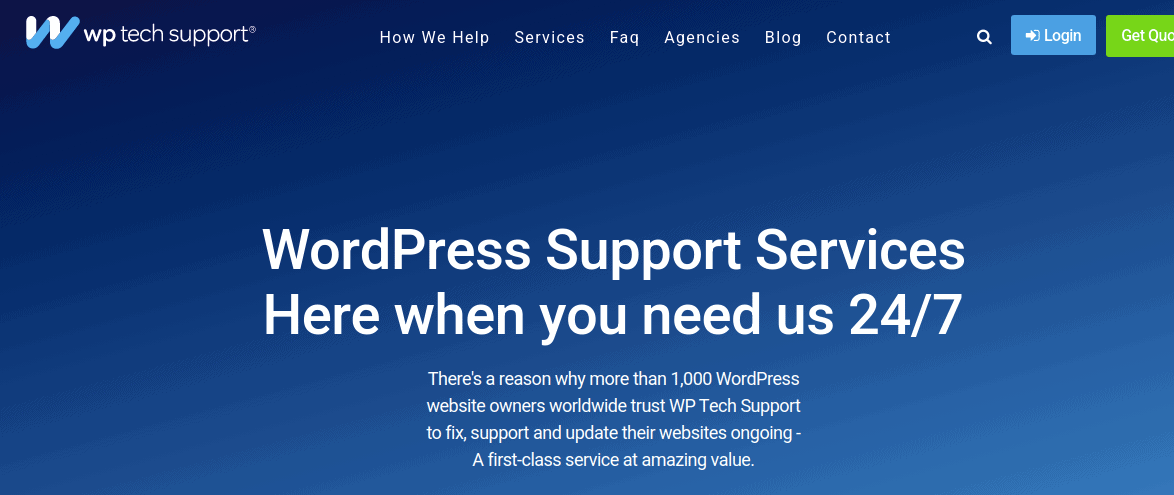 WP Tech Support