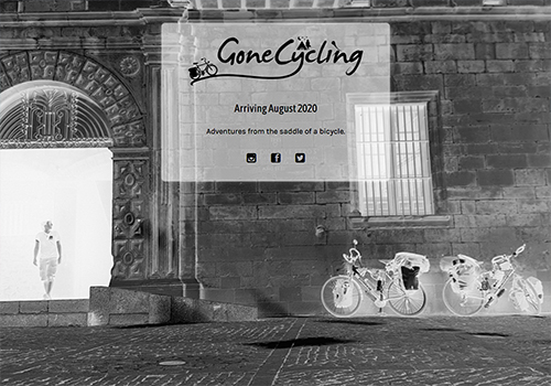www.gonecycling.com uses the Minimal Coming Soon WordPress plugin